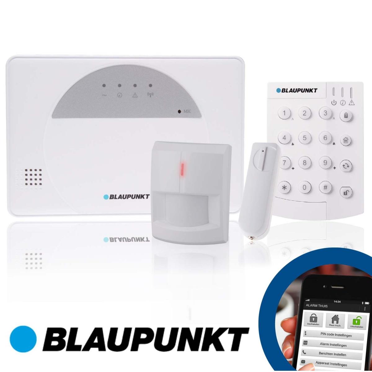 Blaupunkt SA 2650 Smart GSM Draadloos Alarmsysteem